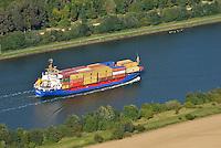 Kuestenmotorschiff Sereno im Nord Ostsee Kanal: EUROPA, DEUTSCHLAND, SCHLESWIG- HOLSTEIN,  (GERMANY), 06.09.2013: Kuestenmotorschiff Sereno im Nord Ostsee Kanal