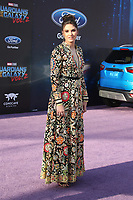 """HOLLYWOOD, CA - April 19: Ronni Hawk, At Premiere Of Disney And Marvel's """"Guardians Of The Galaxy Vol. 2"""" At The Dolby Theatre  In California on April 19, 2017. Credit: FS/MediaPunch"""