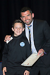 St Johnstone FC Youth Academy Presentation Night at Perth Concert Hall..21.04.14<br /> Callum Davidson presents to Thomas Penker<br /> Picture by Graeme Hart.<br /> Copyright Perthshire Picture Agency<br /> Tel: 01738 623350  Mobile: 07990 594431