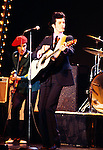 Willy DeVille of Mink DeVille 1978 on Midnight Special.© Chris Walter.