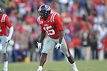 Ole Miss linebacker Joel Kight (15) vs. LSU at Tiger Stadium in Baton Rouge, La. on Saturday, November 17, 2012. LSU won 41-35.....
