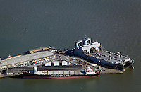 aerial photograph Pier 50 Westar Marine Services San Francisco, California