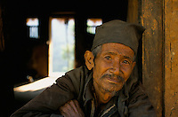 A Nepali farmer in Rolpa District