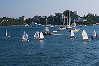 Massachusetts, Martha's Vineyard, Edgartown, sailing school