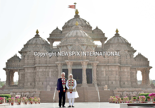 10.04.2017; New Delhi, India: MALCOLM TURNBULL AND INDIAN PM NARENDRA MODI<br />