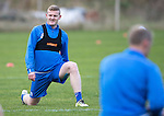 St Johnstone Training&hellip;..21.10.16<br />Brian Easton pictured during training ahead of Sunday&rsquo;s game against local rivals Dundee<br />Picture by Graeme Hart.<br />Copyright Perthshire Picture Agency<br />Tel: 01738 623350  Mobile: 07990 594431