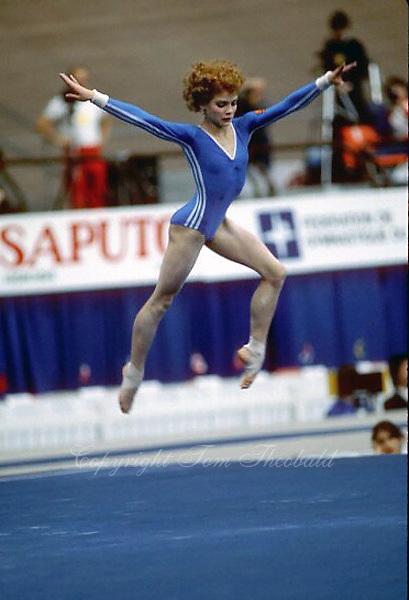 1985 WORLD CHAMPIONSHIPS ARTISTIC GYMNASTICS. | Tom Theobald