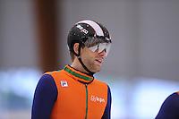 SCHAATSEN: LEEUWARDEN: 08-10-2015, Elfstedenhal, shorttrack Time Trial, Daan Breeuwsma, ©foto Martin de Jong
