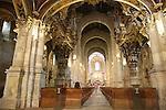 Interior of Se Cathedral; Braga, Portugal