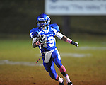 Water Valley's James Washington (19) vs. Mantachie in high school football action in Water Valley, Miss. on Friday, October 26, 2012.