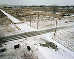 The Intersection of Helen and Georgia Streets, Detroit, Michigan, February, 2009.  The landscape pictured here was once filled with middle-class homes. Detroit, Michigan, February, 19, 2009