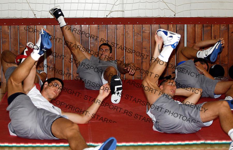 Kosarka, Reprezentacija Srbije, pripreme.Darko Milicic.Beograd, 23.07.2007..foto: Starsport