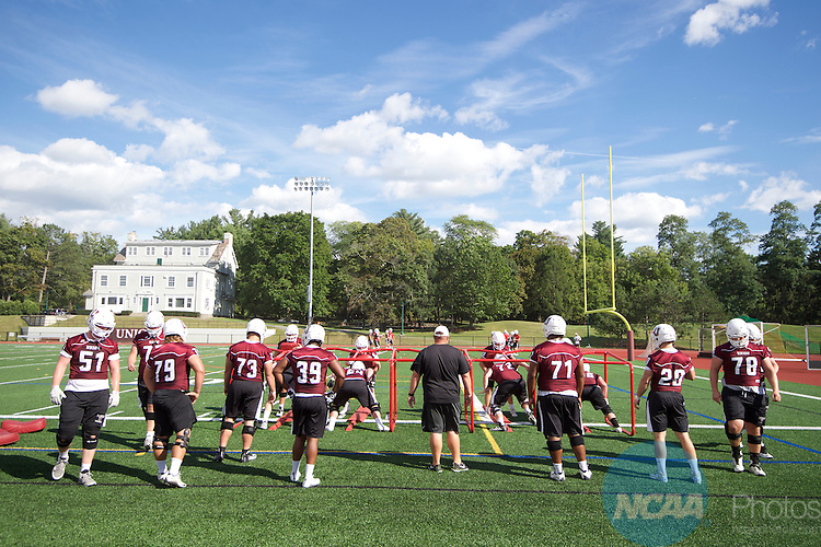 09 SEPT 2016:  Campus life photos of students at Union College  for NCAA Champion Magazine in Schenectady, NY.  Jamie Schwaberow/NCAA Photos