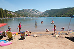 Pinecrest Lake, Watersports, Picnic, Water, Family, Families, Mountains, Pinecrest, California, USA.  Photo copyright Lee Foster.  Photo # california121441