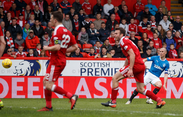 Kenny Miller scores the first Rangers goal