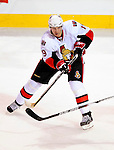 17 October 2009: Ottawa Senators center Jason Spezza in action during a game against the Montreal Canadiens at the Bell Centre in Montreal, Quebec, Canada. The Senators defeated the Canadiens 3-1. Mandatory Credit: Ed Wolfstein Photo