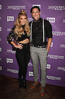 NEW YORK, NY - NOVEMBER 2:  Ariana Madix and Tom Sandoval pictured as BRAVO's 'Vanderpump Rules' cast at the kick-off of first ever 'VanderCrawl' bar crawl in New York, New York on November 2, 2016. Credit: Rainmaker Photo/MediaPunch
