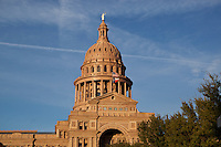 Capitol Dome stands over the Texas State Capitol in Austin, Texas, USA""