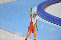 SCHAATSEN: HEERENVEEN: 29-12-2013, IJsstadion Thialf, KNSB Kwalificatie Toernooi (KKT), 1500m, Antoinette de Jong, ©foto Martin de Jong