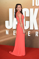 LONDON, UK. October 20, 2016: Michelle Heaton at the premiere of &quot;Jack Reacher: Never Go Back&quot; at the Cineworld Empire Leicester Square, London.<br /> Picture: Steve Vas/Featureflash/SilverHub 0208 004 5359/ 07711 972644 Editors@silverhubmedia.com