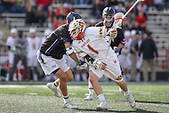 College Park, MD - February 18, 2017: Maryland Terrapins Matt Rambo (1) in action during game between High Point and Maryland at  Capital One Field at Maryland Stadium in College Park, MD.  (Photo by Elliott Brown/Media Images International)