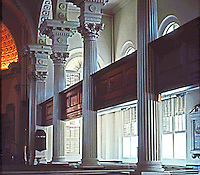 Charleston:  St. Philip's Interior.  Photo '78.