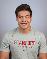 Stanford Wrestling Portraits, October 11, 2016