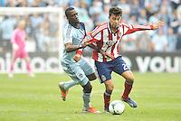 Carlos Alvarez (20) Chivas USA in action..Sporting Kansas City defeated Chivas USA 4-0 at Sporting Park, Kansas City, Kansas.