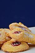 Stock photo of strawberry cookies