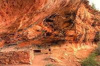 Two room Ancient ruin in Sedona, Arizona