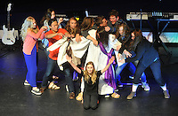 NWA Democrat-Gazette/MICHAEL WOODS &bull; @NWAMICHAELW<br /> Students with How To Life, a group of high-school students mobilized to lead their peers to stand and live for Jesus, performs a skit during a pep rally Thursday April 7, 2016, at Cross Church in Springdale.