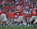 Ole Miss vs.Georgia quarterback Aaron Murray (11) at Sanford Stadium in Athens, Ga. on Saturday, November 3, 2012.