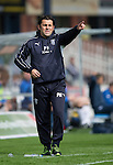Dundee v St Johnstone...15.08.15  SPFL   Dens Park, Dundee<br /> Dundee manager Paul Hartley<br /> Picture by Graeme Hart.<br /> Copyright Perthshire Picture Agency<br /> Tel: 01738 623350  Mobile: 07990 594431