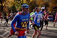 People take part during the ING New York City Marathon in New York . November 03, 2013, Photo by Kena Betancur / VIEWpress.