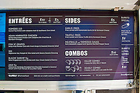 Komodo Menu, Gourmet Food Truck, Mid Wilshire, Los Angeles CA. Miracle Mile district.