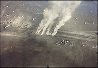 BNPS.co.uk (01202) 558833<br /> Picture: collect<br /> <br /> A photograph showing bomb damage was also in the album alongside pictures of the pilots making merry. <br /> <br /> An incredible photo album showing German First World War pilots quoffing champagne and getting drunk in their mess have been discovered. Coming just 11 years after the first ever flight by the Wright brothers, air warfare was a new but risky concept at the start of the Great War -- The men of the Royal Flying Corps' used the unofficial motto of 'live for today, tomorrow we die' such was the deadly nature of their job. Judging by the dozens of the black and white snaps that have emerged, it seems their German counterparts adopted a similar attitude to life.