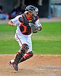 6 March 2009: Baltimore Orioles' catcher Guillermo Quiroz in action during a Spring Training game against the Washington Nationals at Fort Lauderdale Stadium in Fort Lauderdale, Florida. The Orioles defeated the Nationals 6-2 in the Grapefruit League matchup. Mandatory Photo Credit: Ed Wolfstein Photo