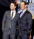 Taylor Kitsch, Peter Burg, Apr 03, 2012 : Tokyo, Japan : Actor Taylor Kitsch(L) and director Peter Burg attends the world premiere for the film &quot;Battleship&quot; in Tokyo, Japan, on April 3, 2012.The film will open on April 13 in Japan.