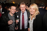 From left are Jyles Frost and Nick Andrews of Nat West with Kim Grundstrom of Gateley