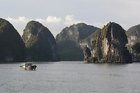 , Vietnam - 2007 File Photo -<br /> <br /> Ha Long Bay<br /> <br /> <br /> <br /> photo : James Wong-  Images Distribution