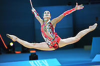 August 29, 2013 - Kiev, Ukraine - CYNTHIA VALDEZ of Mexico performs at 2013 World Championships.