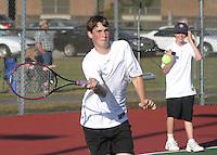 Boys Tennis vs. Hamilton Heights 9-10-08