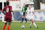 05 November 2008: Florida State's Ellie Stephan (17). Virginia Tech and Florida State University played to a 0-0 tie after two overtimes at Koka Booth Stadium at WakeMed Soccer Park in Cary, NC in a women's ACC tournament quarterfinal game.  Virginia Tech advanced to the semifinal round in penalty kicks, 4-2.
