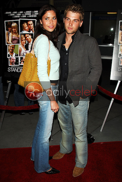 Mike Vogel and wife Courtney<br />