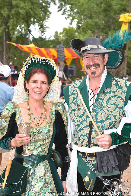 The Renaissance Fair is held each September at the historic museum of El Rancho de Las Golondrinas near Santa Fe and features dancers, kinghts, acrobats and many other performers all celebrating the culture and life style of the Medieval Middle Ages.