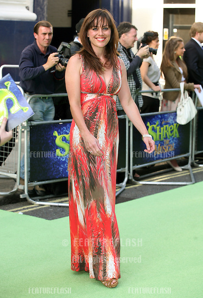 Jill Halfpenny attending the Shrek The Musical Press Night, at the The Theatre Royal, London. 14/06/2011  Picture by: Alexandra Glen / Featureflash