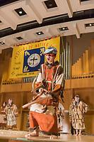 Auggie Galanin, Festival of Native Arts, Aleutian Region School District Unangax Dancers, Native dance and art celebration in Fairbanks, Alaska