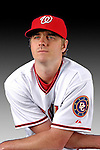 25 February 2007: Washington Nationals infielder Josh Wilson poses for his Photo Day portrait at Space Coast Stadium in Viera, Florida.<br /> <br /> Mandatory Photo Credit: Ed Wolfstein Photo<br /> <br /> Note: This image is available in a RAW (NEF) File Format - contact Photographer.