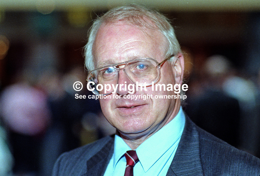 Eddie O'Hare, MP, Labour Party, UK, taken annual conference October 1992. 19921013EOH..Copyright Image from Victor Patterson, 54 Dorchester Park, Belfast, UK, BT9 6RJ..Tel: +44 28 9066 1296.Mob: +44 7802 353836.Voicemail +44 20 8816 7153.Skype: victorpattersonbelfast.Email: victorpatterson@me.com.Email: victorpatterson@ireland.com (back-up)..IMPORTANT: If you wish to use this image or any other of my images please go to www.victorpatterson.com and click on the Terms & Conditions. Then contact me by email or phone with the reference number(s) of the image(s) concerned.
