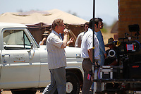 John Malkovich on the set of Chavez filming on location in 30 minutes from the Mexican capital on the coast of Hermosillo. June 5, 2012. Credit: Baldemat de los Llanos/NortePhoto/MediaPunch Inc. ***NO MEXICO**NO SPAIN**NO GERMANY**NO AUSTRIA***